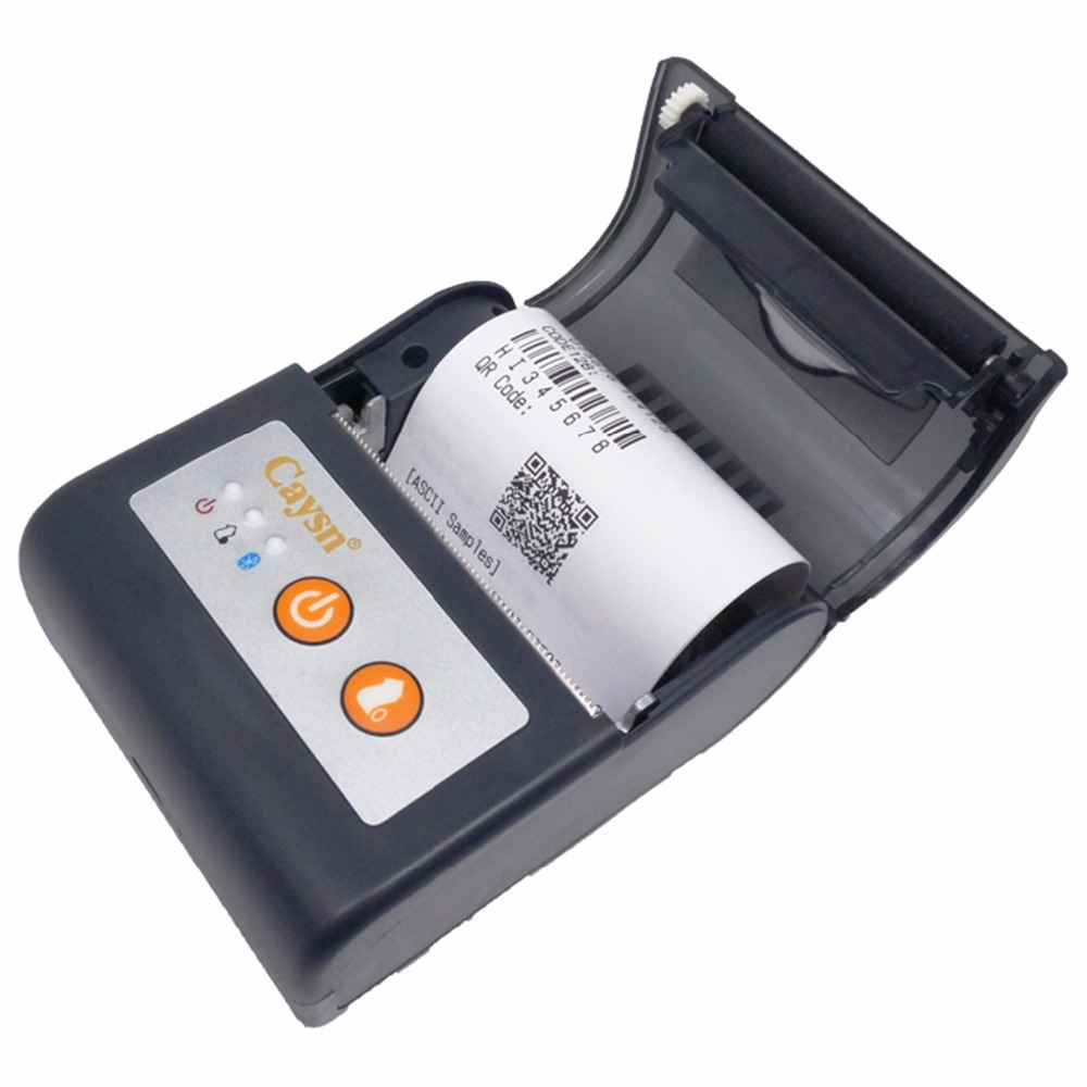 2-inch portable mobile thermal receipt printer support bluetooth P58A