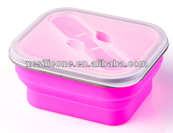 Pro-environment collapsible unique car heated lunch box