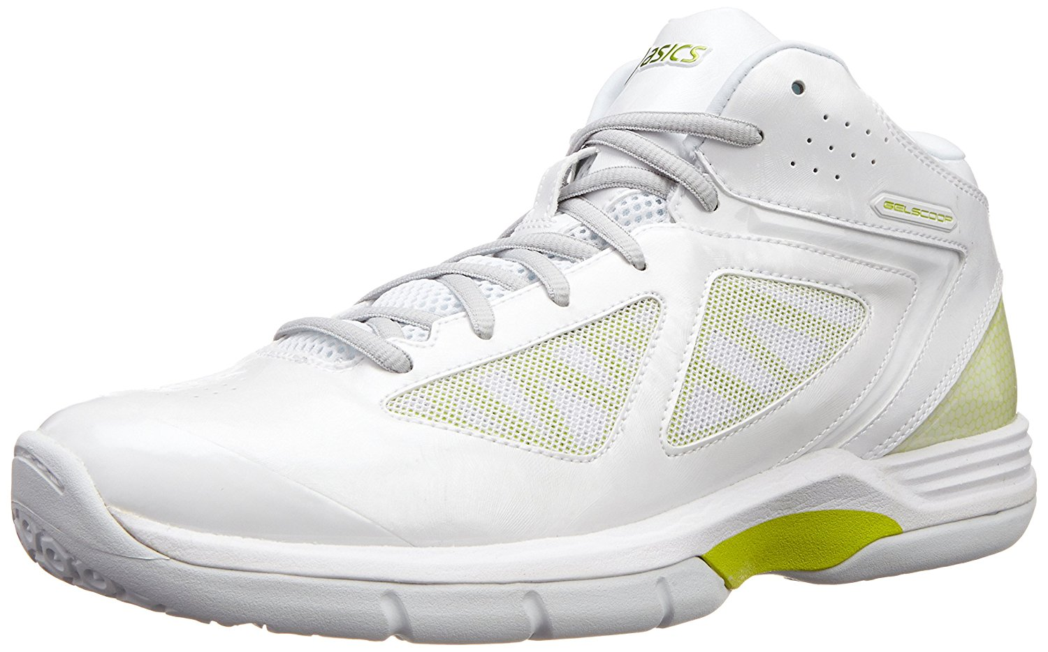 Asics Men's Gel Scoop Artificial Leather Basketball Shoes
