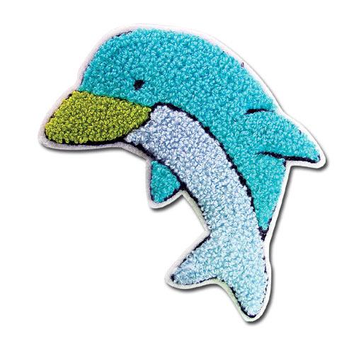 Toallas Personalizado logotipo bordado Toallas Delfín 5 Dolphin Bordado Toallas