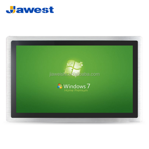 Linux IP65 12.1 inch Industrial Touch Screen Panel PC J1900 CPU 2 LAN