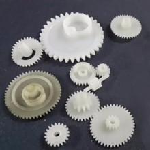 MMS factory plastic injection molding POM actuactor helical Gears