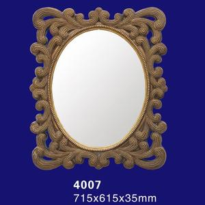 Polyurethane / PU Foam Mirror Frame For Antique Decorative Mirror