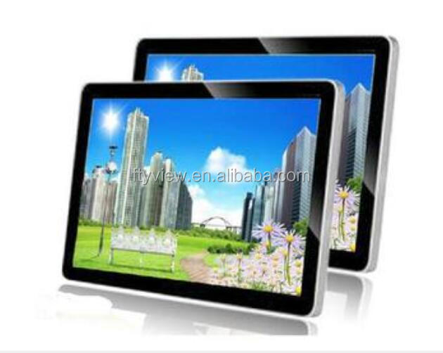 Wall Mounted Digital Signage Touch Screen Wifi/3G/Android/Internet Lcd Advertising Display Wall Mounted