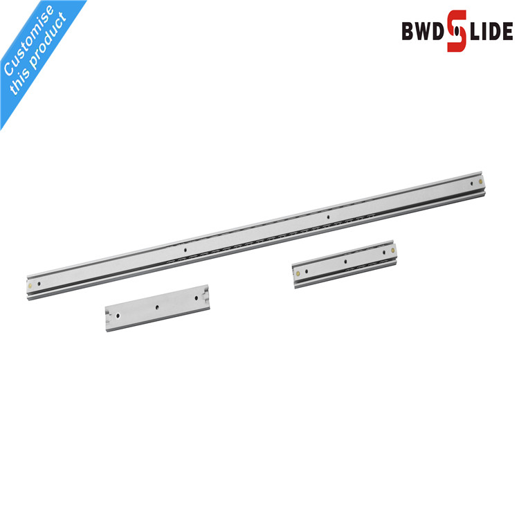 Special Mirror sliders rails heavy duty drawer telescopic bearing slides runners