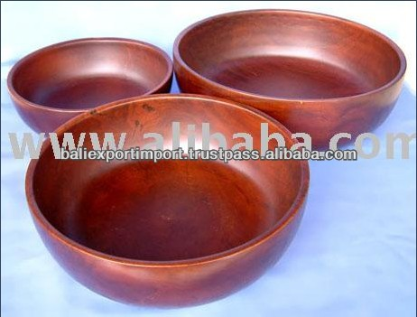 High Quality Round Shape Bamboo Bowl for Sale