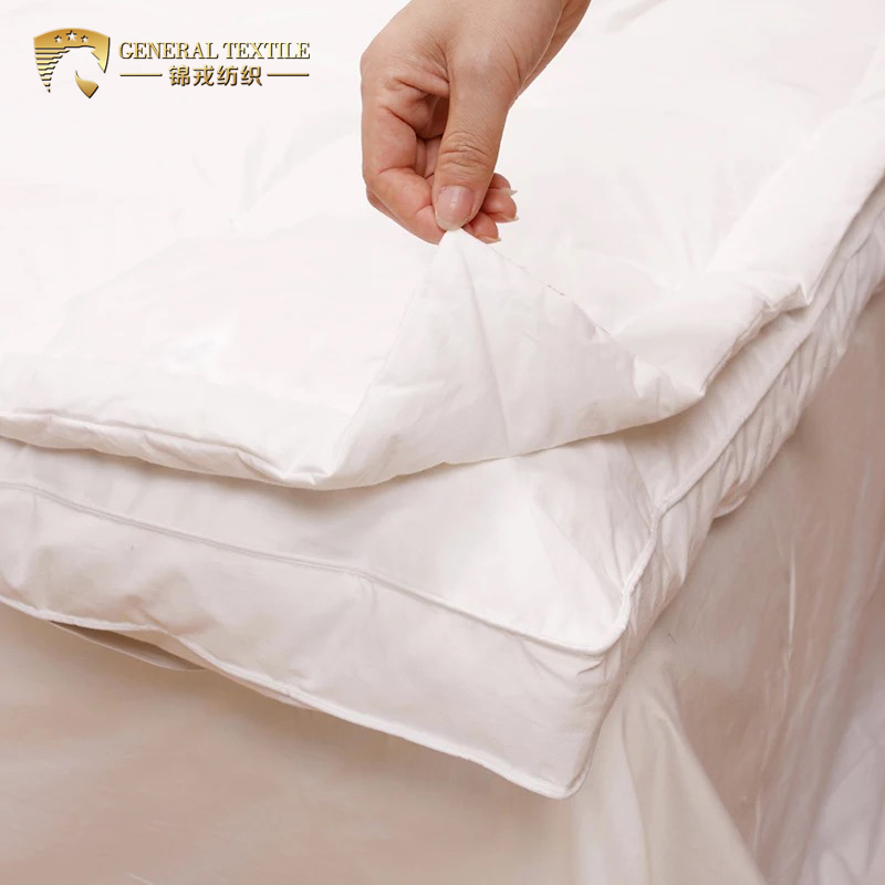 luxury goose Down Turkish cotton 95% goose down Thin Mattress Topper pad