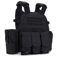 Outdoor field security vest 6094 nylon cheap bulletproof military tactical vest
