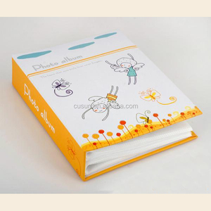 2017 Hottest new design pure colourful cover wedding photo album