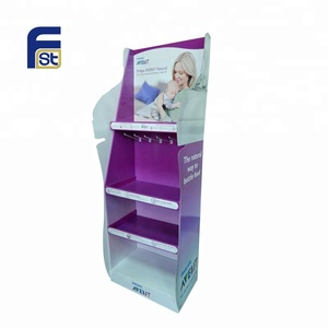 Children favorite cardboard toy display stand