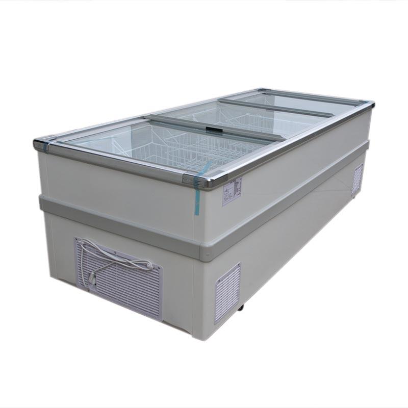 Europe Style Hot Selling Top Sliding Glass Doors Deep Freezers Shop