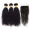 Wholesale malaysian human hair jerry curls virgin malaysian afro kinky curl sew in hair weave