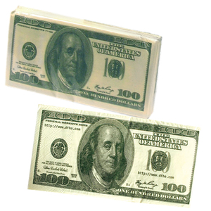 Factory Wholesale Dollar Bill Money Printed Toilet Tissue