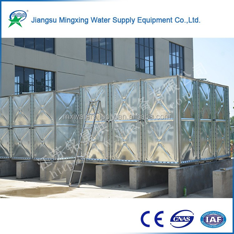 Novelties wholesale china sectional bolted modular water tanks and Integrated water tank