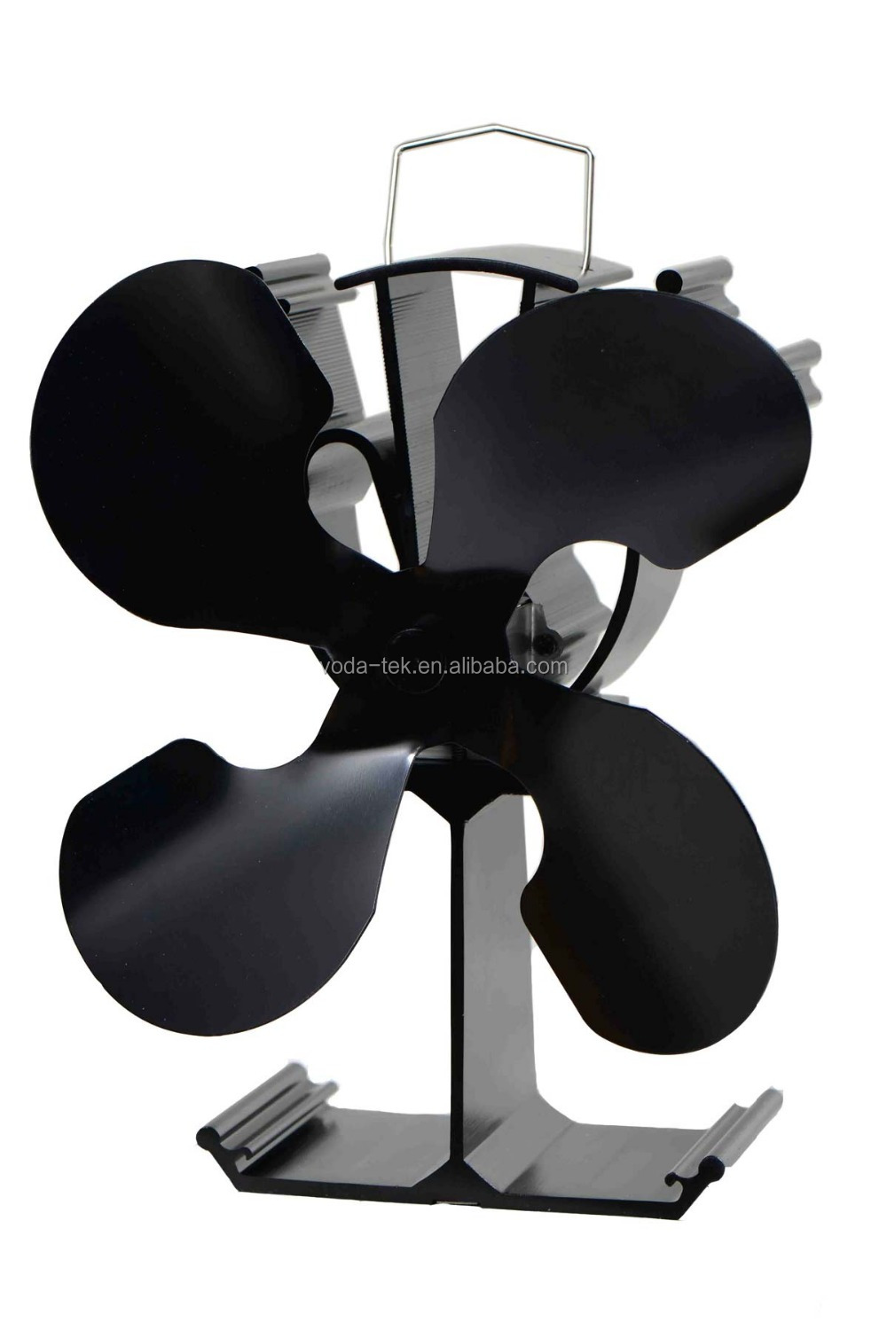 Heat powered fans for wood stoves - Heat Powered Stove Fan Eco Friendly Wood Burning Stove Top Fan