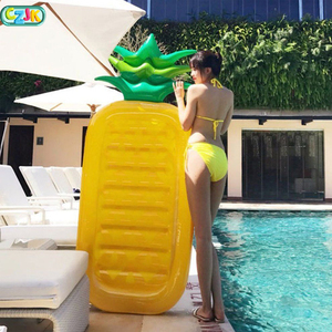Walk On Water Float 2018 Floating Row Newest Pool Toys Swimming Sea Inflatable Pvc Pineapple Air Mattress