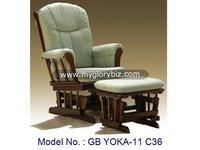 Wooden Rocking Chair, Wooden Chair, Chair, Wooden Furniture