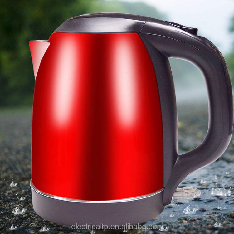 Good quality red color housing tea kettle