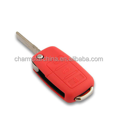 Custom Silicone Smart Remote Key Cover Key Fob Skin Covers