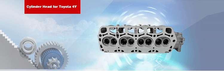 Petrol Engine Cylinder Head for Toyota Town- ace 4Y Engine