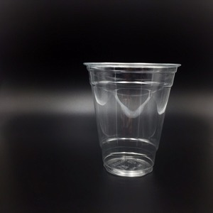 95mm plastics pet drink cup for cold beverage