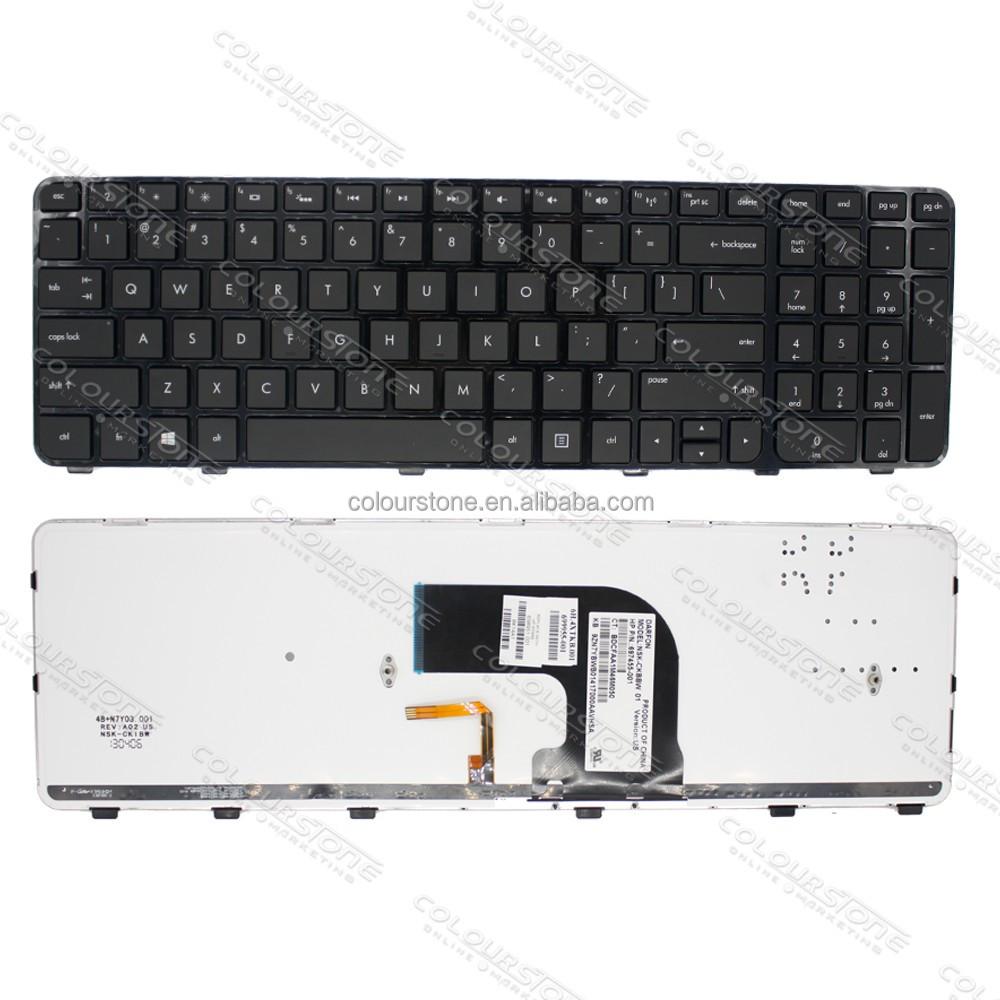 HP 697455-001 NSK-CKBBW 01 NSK-CKBBW Keyboard Backlit 697455-001 New