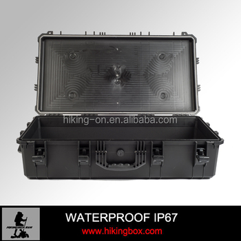 720*515*245mm Large Blow Mold Plastic Cases For Tools Ip67