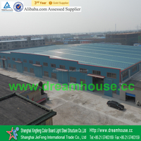 high quality prefab steel factory/prefabricated steel structure workshop/cheap steel warehouse for sale