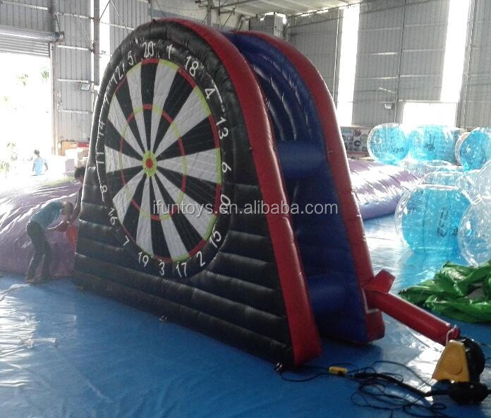 Giant inflatable foot darts/inflatable dart board/dart football board inflatables for sale