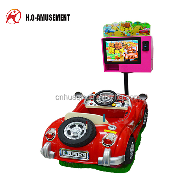 Video Kiddie Rides Amusement car Rides in Coin Operated Games