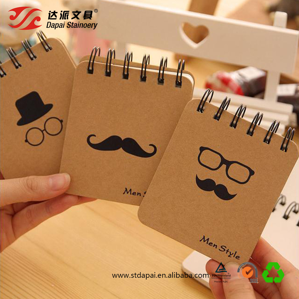 Korean stationery portable spiral notebook creative spiral notebook wholesale