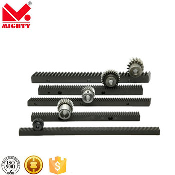 MIGHTY rack trader sliding door steel Rack and gear pinion