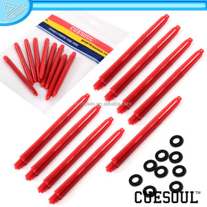CUESOUL Professional Red Nylon PC Dart Set Shafts Indoor Dart Game