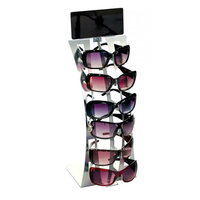 Acrylic Sunglasses Display Stand/Acrylic Eyeglass Counter Display Rack