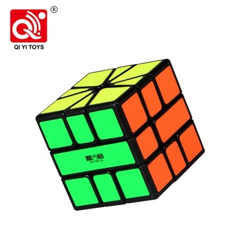 Qiyi SQ-1 plastic 58mm puzzle cube mofangge with bright sticker