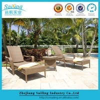 Great Reasonable Price Outdoor Pool Foldable Shape Sun Loungers