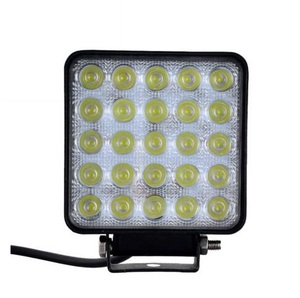 LED Car Lights Square Shape 75W Cool White LED Work Lights 12-24V Waterproof