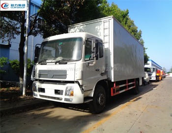 CLW high quality CUSTOMIZED dongfeng tianjin 50 square meters road show RHD mobile stage truck for sale