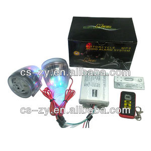 motorcycle mp3 audio anti-theft alarm system/motorcycle anti-theft alarm/motorcycle alarm manual