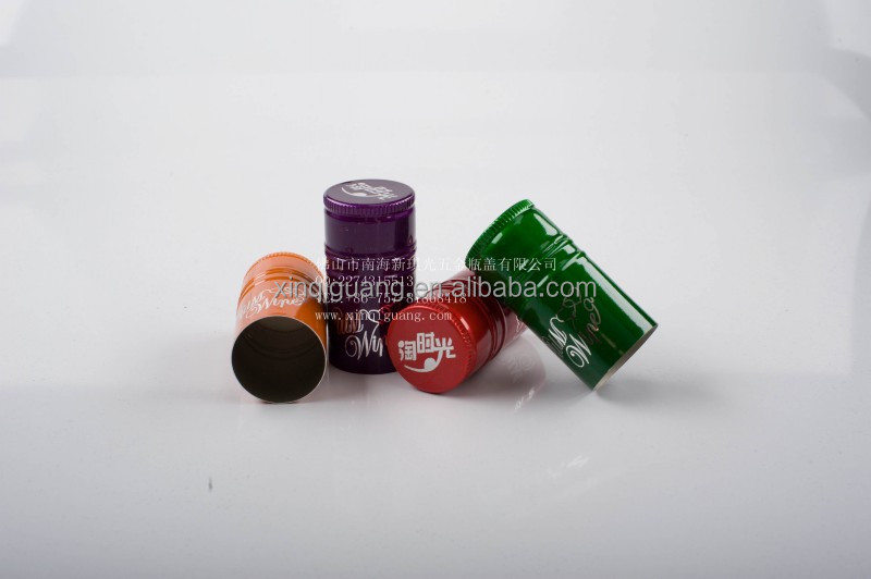 Wine bottle cap oil bottle screw cap aluminum wine screw caps