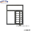 security design aluminum casement window with bars in China