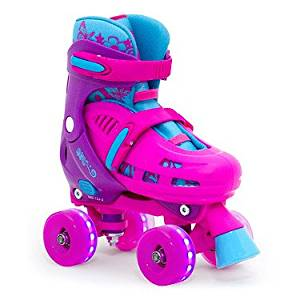 SFR Hurricane Lightning Adjustable Kids Quads Pink