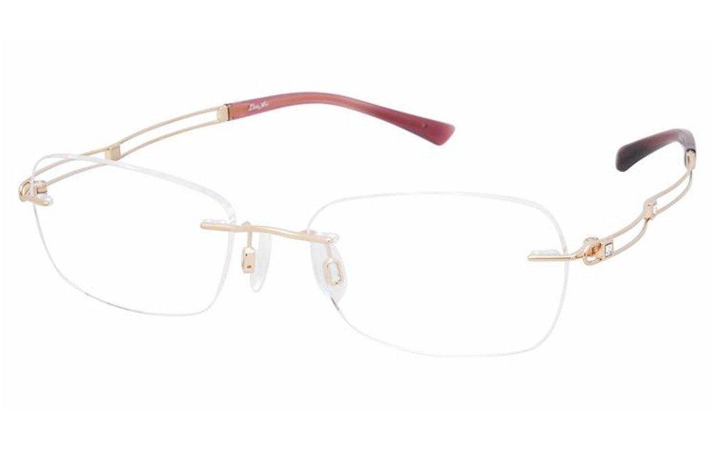 a9acf4136 Charmant Line Art Women's Eyeglasses XL2050 XL/2050 GP Gold Optical Frame  51mm