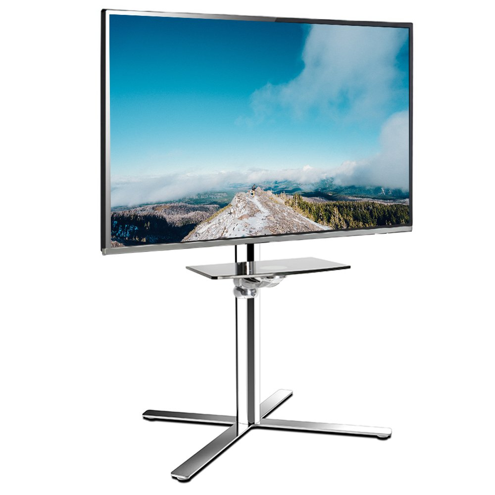FLEXIMOUNTS C01 TV Cart LCD Stand 32''-60'' LCD/LED Plasma Flat Panel Screen & up to 66 lbs