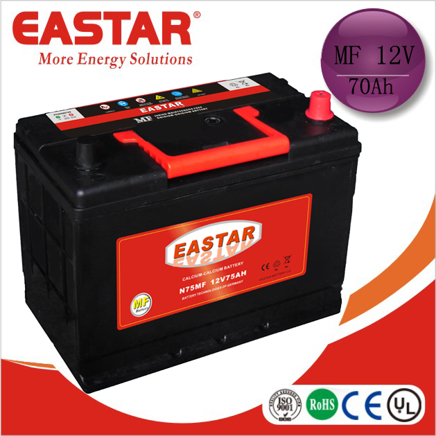 Best selling MF acid battery 12v automotive car battery manufacturer korea JIS and DIN standard