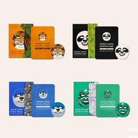 private labeling Animal Mask anti-acne anti-wrinkle whitening face mask in high quality