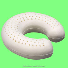 2017 hot sales fashionable inflatable U shape pillows/airplane travel pillow with latex material