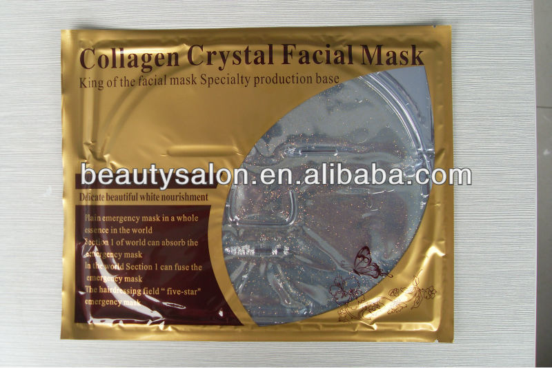 Feuille d'or anti-âge collagène cristal masque facial ZY-FM008
