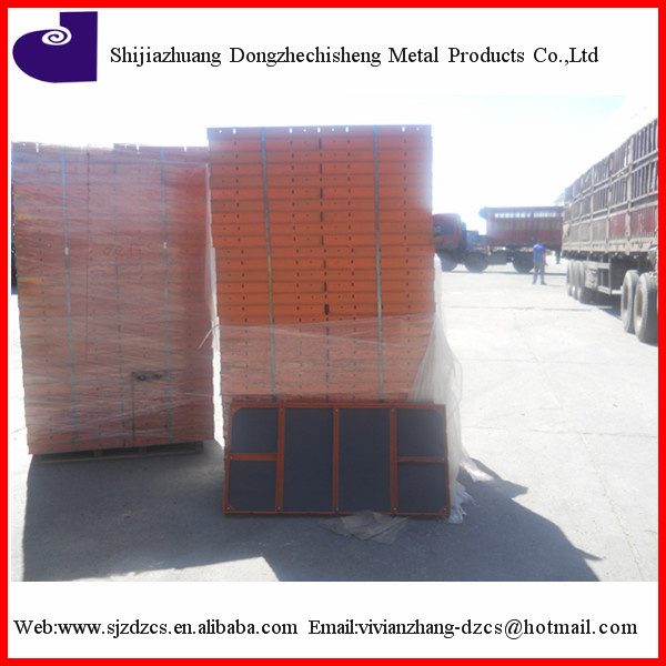 construction paint plywood steel frame concrete metal formwork