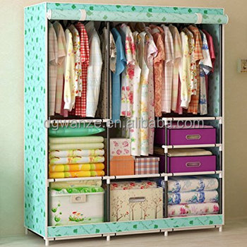 Folding Fabric Wardrobe Closet/fabric Wardrobe/wardrobe Organizer